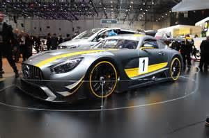 Motor Cars Mercedes 2016 Mercedes Amg Gt3 Race Car Live Photos From Geneva