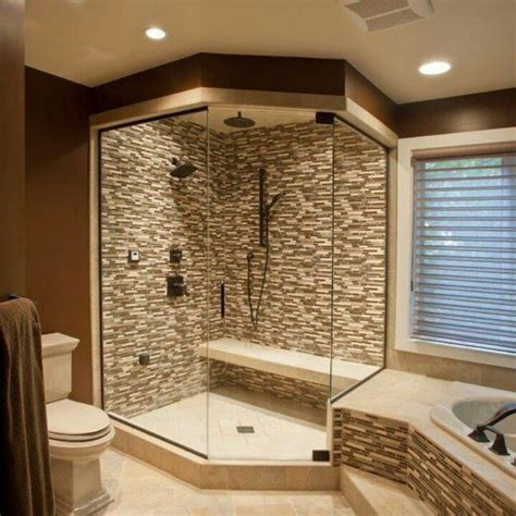 master bathroom shower ideas enjoy bathing with walk in shower designs bath decors