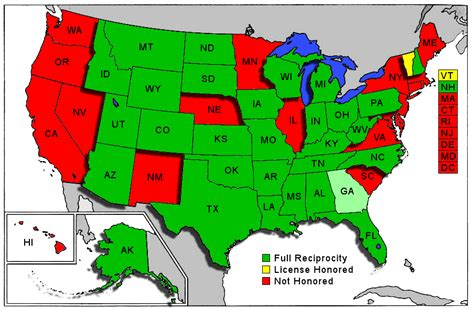 concealed carry reciprocity map indiana concealed carry reciprocity map indiana map