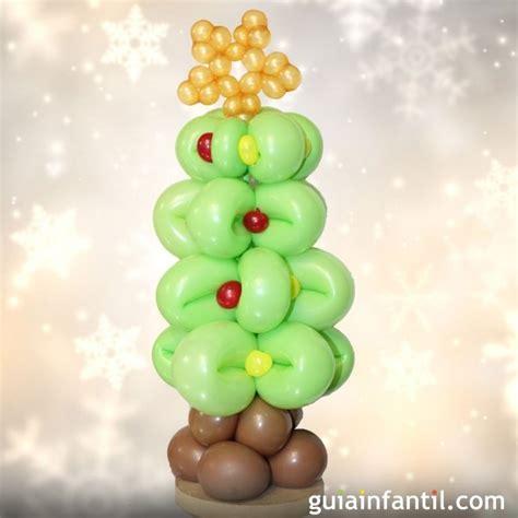 193 rbol de navidad con globos globoflexia para ni 241 os