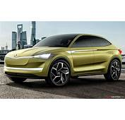 Skoda 'Vision E' Electric Concept Car Unveiled In Shanghai