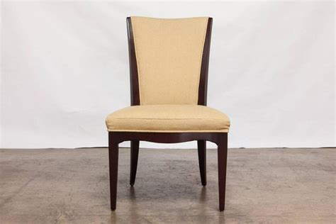 Barbara Barry Dining Chairs Set Of Six Mahogany Dining Chairs By Barbara Barry For Baker For Sale At 1stdibs