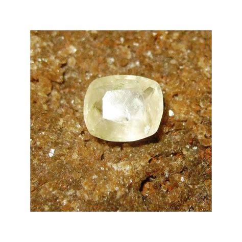 5 65 Ct Sapphire Safir Memo batu safir kuning muda bentuk cushion 0 65 carat ada memo asli