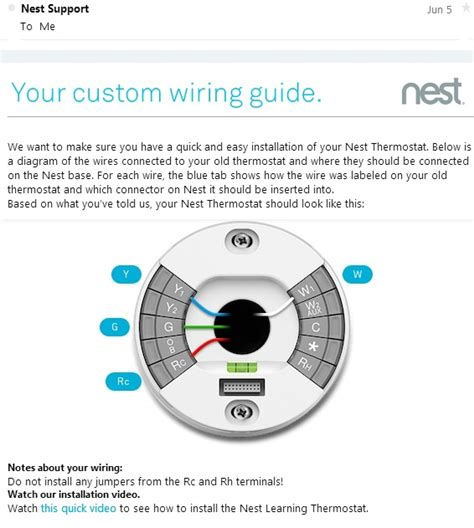 nest thermostat wiring diagram nest your custom wiring diagram guide customer service
