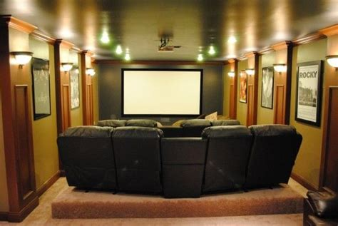 cool media room ideas 1000 images about small home theater on small