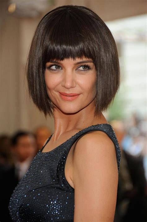 Mystery of Katie Holmes? short bob is solved   NY Daily News