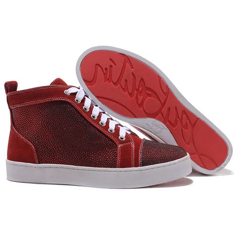 Sneakers Wedges Import Original Gold And Silver Best Seller original christian louboutin louis strass mens sneakers