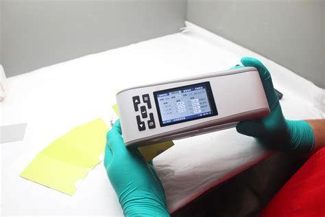 color spectrophotometer painting process control