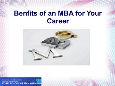Mba Career Link by Benefits Of An Mba For Your Career