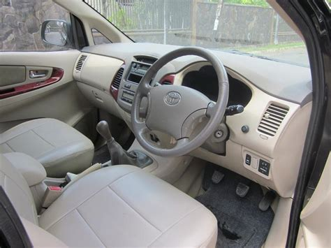 Lu Depan Innova 2005 dijual toyota kijang innova v diesel 2 5 v mt 2005 hitam
