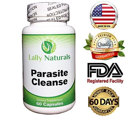 Herbal Parasite Detox by Parasite Cleanse For Humans Maximum Strength 10 Day All