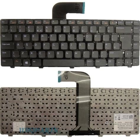 Keyboard Laptop Dell N4050 dell inspiron 14r n4110 m4110 uk replacement laptop keyboard