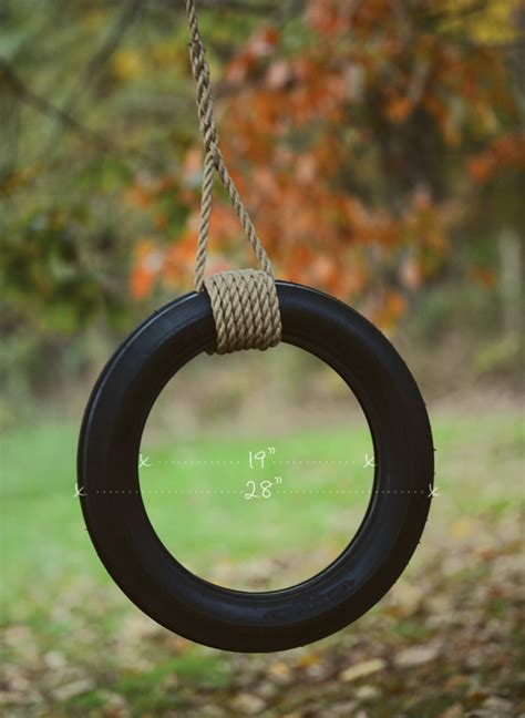 how to hang a tire swing from a tall tree vintage swings