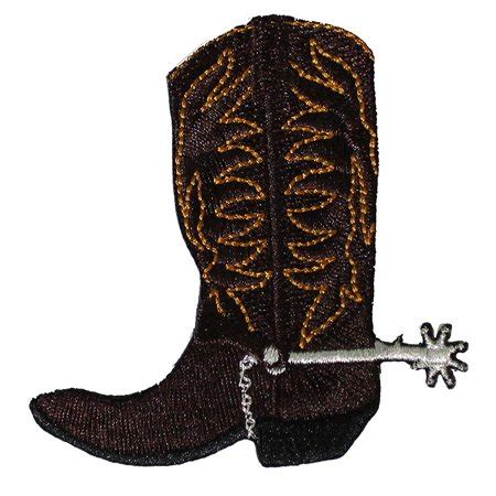 Country Boots Original 3 western country themed cdx cowboy boot patch
