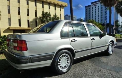 old car manuals online 1992 volvo 960 electronic valve timing 1992 volvo 960 silver metallic with 175000 miles available now