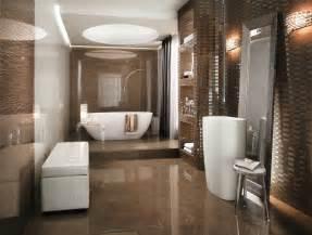 amazing Mobilier Salle De Bains #1: faience-salle-bains-supernatura-carrelage-mural-sol-marron-mosaique.jpg