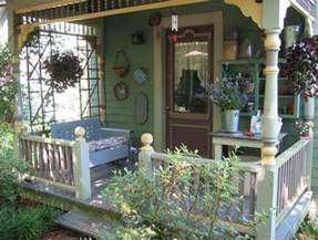 sweet country cottage style front porch porch sunroom