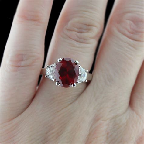 ruby engagement rings archives miadonna