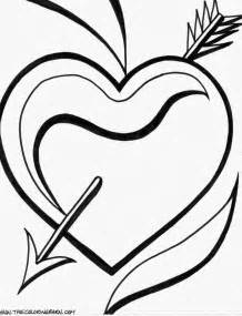 hearts to color free broken s coloring pages
