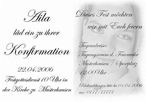 Muster Einladung Konfirmation Einladungskarten Konfirmation Kostenlos Cloudhash Info