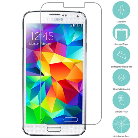 Tempered Glass Lummax For Samsung Galaxy S5 for samsung galaxy s5 tempered glass screen protector