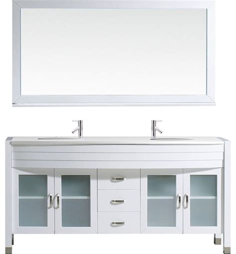ava bathroom furniture ava double bathroom vanity cabinet set white 63