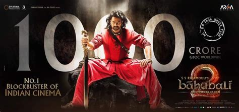 bahubali 2 first day collections bahubali collections baahubali part 2 conclusion total worldwide box office