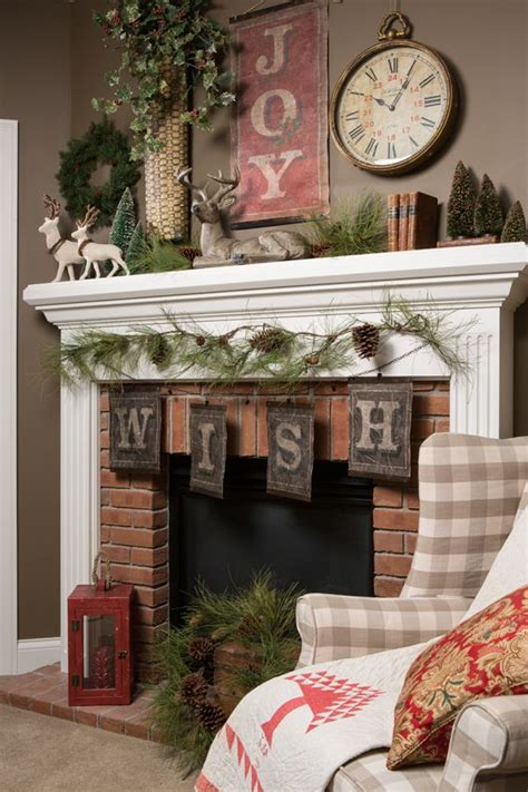 country mantel decor the letters decorating fireplace country
