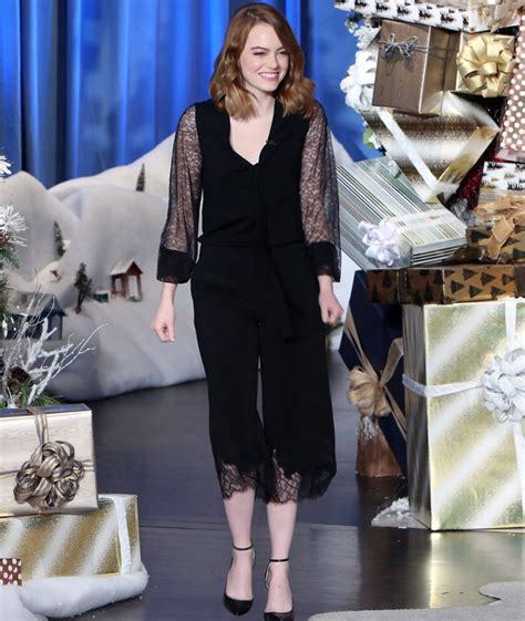 emma stone ellen emma stone talks working with ryan gosling says it s