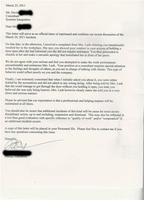 Customer Complaint Holding Letter Alaska Pride Consultant Gets Letter Of Reprimand From Human Resources For Holding Door
