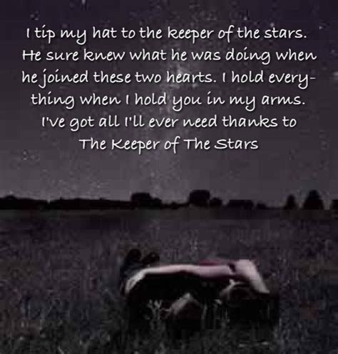printable lyrics to keeper of the stars by tracy byrd 7 best keeper of the stars images on pinterest our