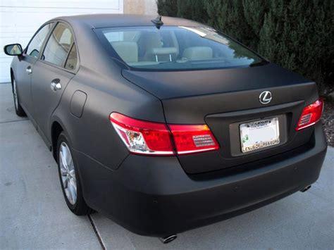 matte black lexus rx 350 matte black lexus es 350 rear