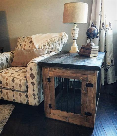 kennel side table 25 unique crate end table ideas on metal