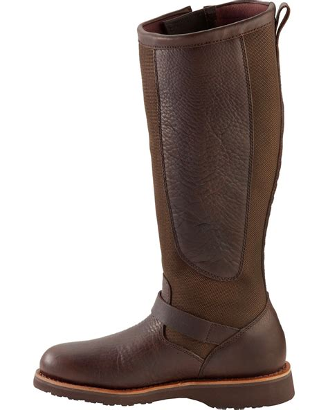 snake boots chippewa s 17 quot viper pitstop waterproof snake boots
