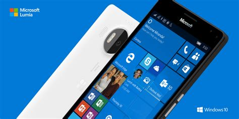 Smartphone Microsoft Lumia 950 print phones buying a smartphone info