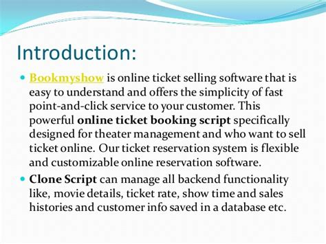 Bookmyshow The Script | bookmyshow clone script ticketnew online ticket booking