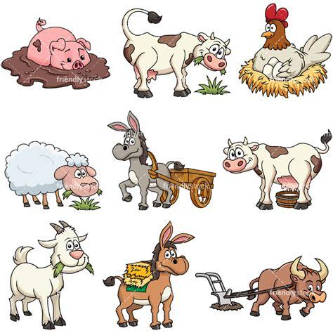 farm animal clipart farm animals vector clipart friendlystock