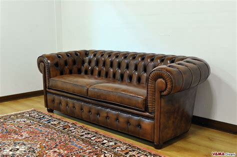 leather couch buttons chesterfield 2 maxi seater sofa two large cushions