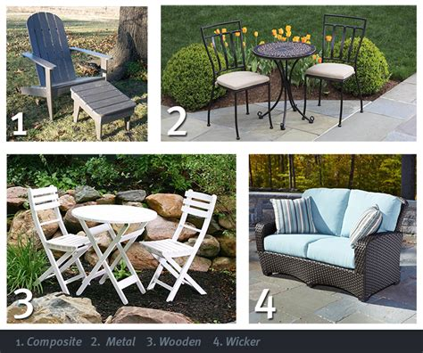Types Of Patio Furniture Bbq Page 2 Classic Accessories