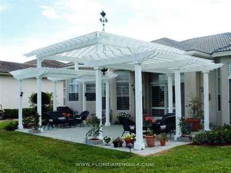 Plantation Home Designs residential florida pergola