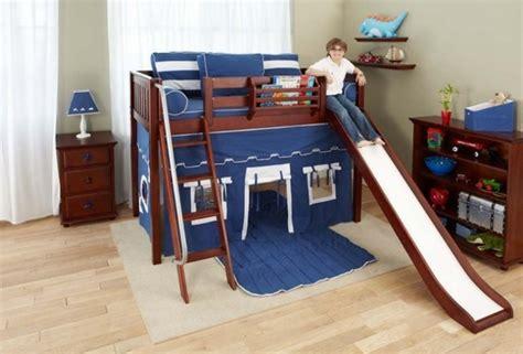 Kinderzimmer Junge Mit Rutsche kinderzimmer mit hochbett und rutsche 50 fotos