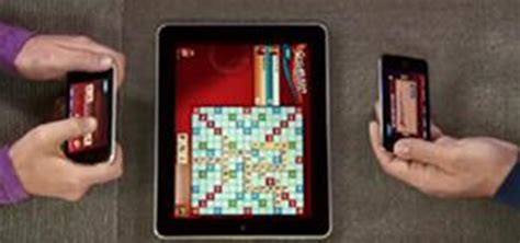 scrabble blast flash scrabble on the tiles from an ipod touch