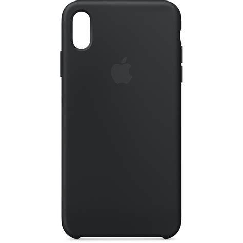 apple iphone xs max silicone black mrwe2zm a b h photo