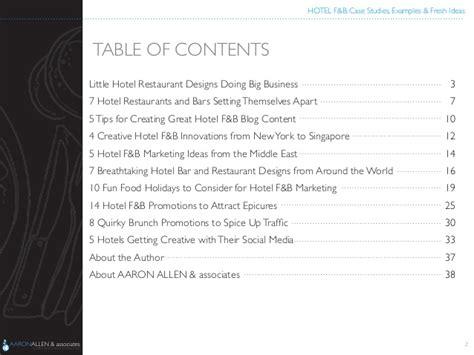 restaurant layout case study hotel f b case studies exles fresh ideas