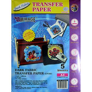 Kertas Transfer Sublime Kertas Mirage Transfer Paper Premium T Shirt