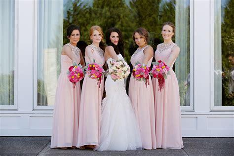 Bridesmaid Dresses by Light Pink Bridesmaid Dresses Yuman Dakren