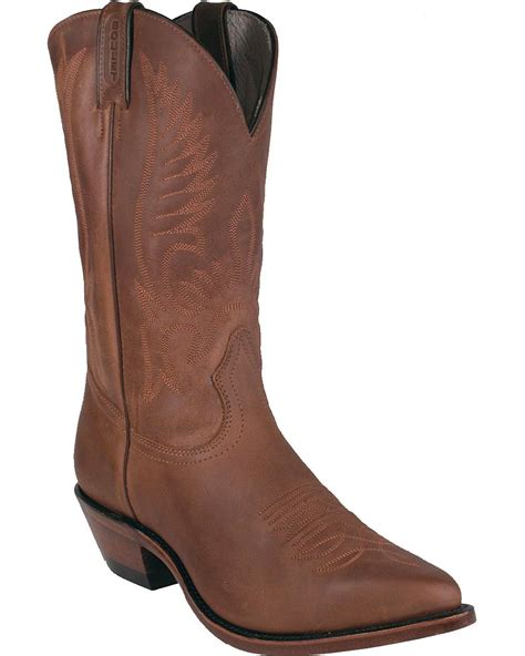 boulet s fancy stitched cowboy boot pointed toe 1867