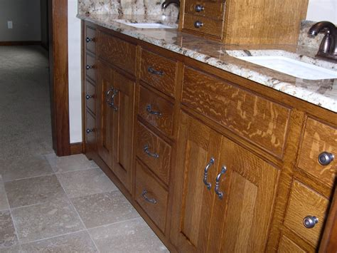 oak bathroom vanities bathroom vanity quarter sawn oak william pepper fine furniture custom residential