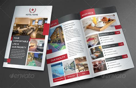 10 glorious hotel brochure templates to amaze your