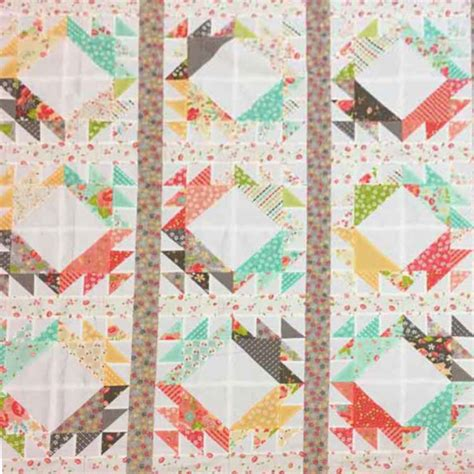Sewing A Patchwork Quilt - quilting sewing quilt pattern moda cake mix 2 preprinted